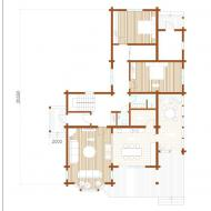 Дом из клееного бруса 227 кв.метров